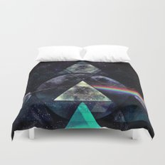 LYYT SYYD ºF TH' MYYN Duvet Cover