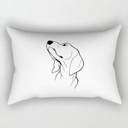 Beggar Rectangular Pillow