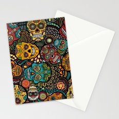 Calavaras - Day of the Dead Skulls Stationery Cards
