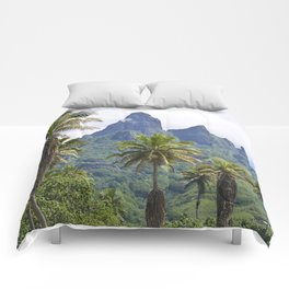 The Land Time Forgot: Marquesas Islands Comforters