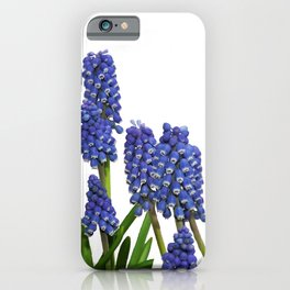 Grape hyacinths flowers #society6 iPhone Case