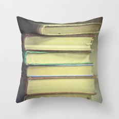 Yesterday's Stories Throw Pillow