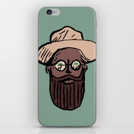 Mr Paradise iPhone Skin