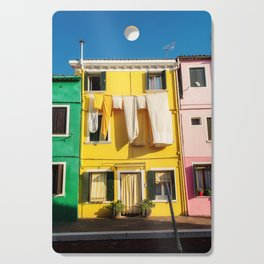 Beautiful Burano Italy Cutting Board