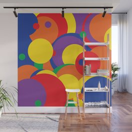 Round and Round Wall Mural