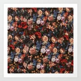 Vintage Summer Floral Art Print
