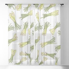 Lemongrass Sheer Curtain