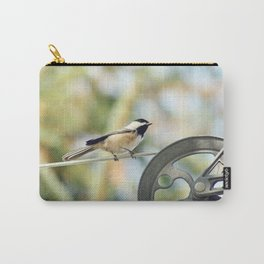 Chick on a line Carry-All Pouch