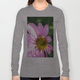 The wasp on the flower Long Sleeve T-shirt