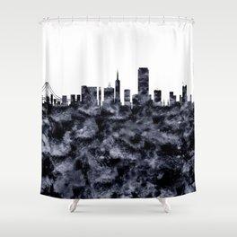San Francisco Skyline California Shower Curtain