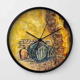 Wine life Wall Clock