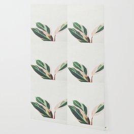 Pink Leaves III Wallpaper