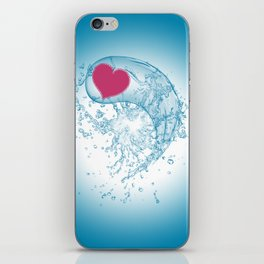 Love Your Water iPhone Skin