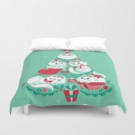 A Very Purry Christmas Duvet Cover