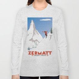 Zermatt, Valais, Switzerland Long Sleeve T-shirt