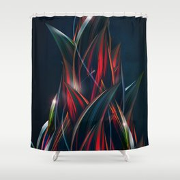 Fires of Babylon Shower Curtain