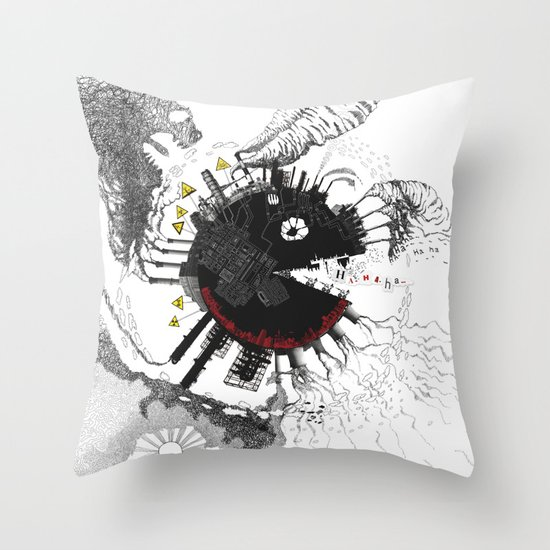 Lost Heaven Throw Pillow