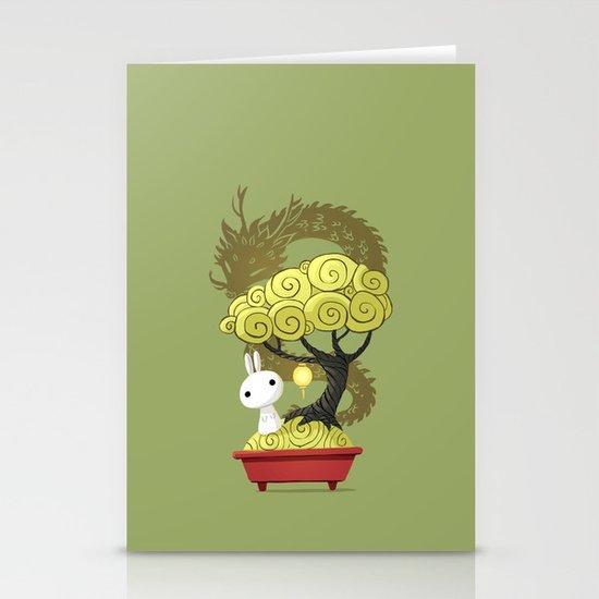 Bonsai Bunny Stationery Cards