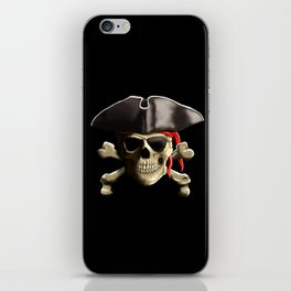 The Jolly Roger Pirate Skull iPhone Skin
