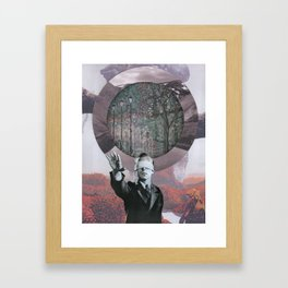 Scan Framed Art Print