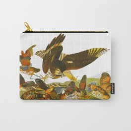 Virginian Partridge Bird Carry-All Pouch