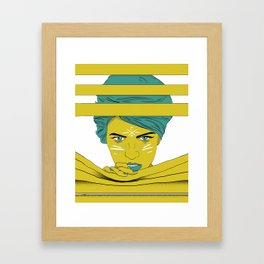 She's Always Watching  Framed Art Print