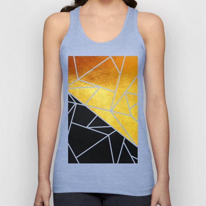Coal and Gold Unisex Tank Top
