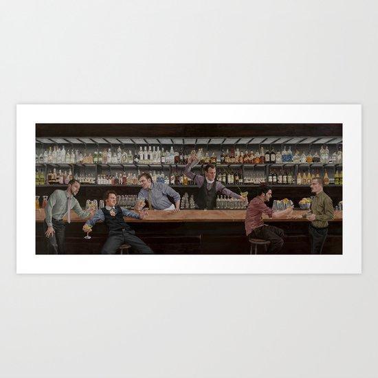 Dream House Bar Art Print
