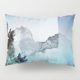 Boreal Lights on the Mountains Pillow Sham