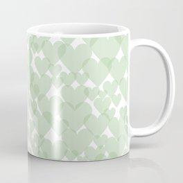 Green harts Coffee Mug