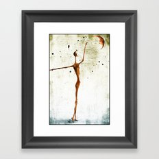 Moonlover Framed Art Print