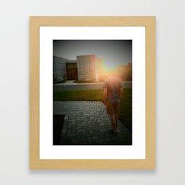 J-Sun Framed Art Print