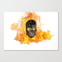 From the Fires of Hell Canvas Print