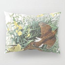 Meadow lark, Birds of America, Audubon Plate 136 Pillow Sham