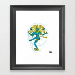 01 - SHIVA Framed Art Print