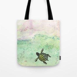 Odyssey Turtle Tote Bag