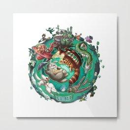 Studio Ghibli - 3 Metal Print