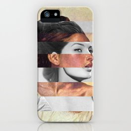Delacroix's Orphan Girl at the Cemetery & Sophia Loren iPhone Case