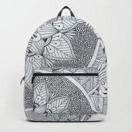 Half Page Mandala Backpack