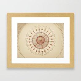 Ornate Chandelier Framed Art Print