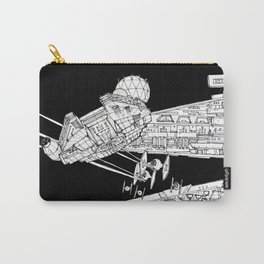 Millenium Falcon unedited Carry-All Pouch