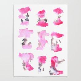 160122 Summer Sydney 2015-16 Watercolor #90 Poster