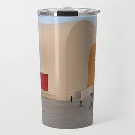 Centro Niemeyer   Aviles Spain Travel Mug