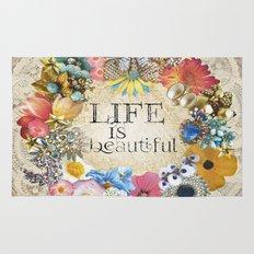 Life Is Beautiful Rug