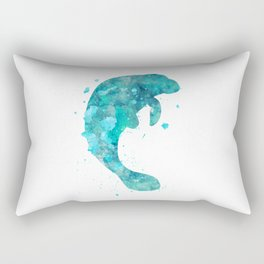 Manatee Rectangular Pillow