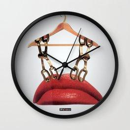Lips Hanger Wall Clock
