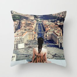 Santa Sede Throw Pillow