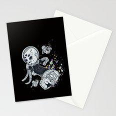 SKATE INVADERS Stationery Cards