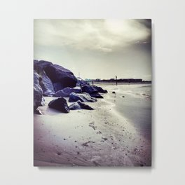 Jetties Metal Print