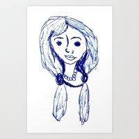 Sharon, 1968 Art Print
